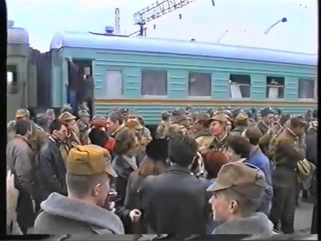 Отправка в Чечню и встреча 81 МСП на ст. Красный кряжок