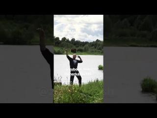Артемова, Кузин, Черкасов и Барзиков на природе 13 06 2017