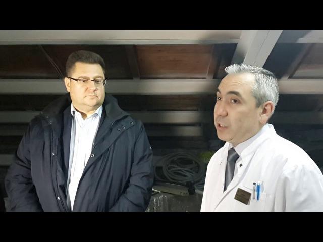 Александр Аверин, замглавврача ПРБ о ремонте кровли родильного отделения