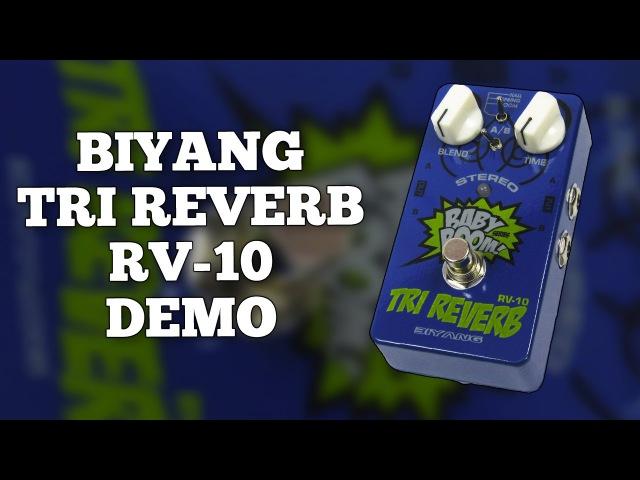 Biyang Tri Reverb RV-10 Demo