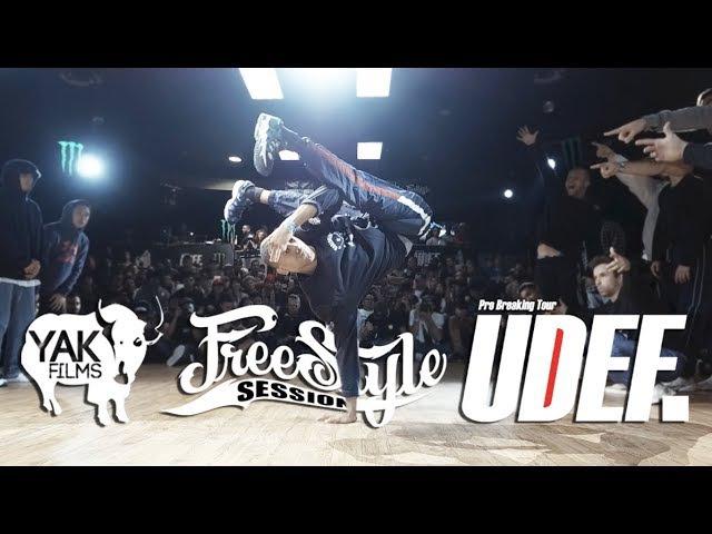 Freestyle Session Day2 | YAK x UDEF Pro Breaking Tour x Silverback