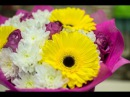Самый популярный букет из живых цветов. Школа флористики Амстердам