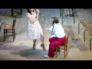 Anna Netrebko et Paolo Gavanelli - L'Elixir d'amour - Opéra Bastille