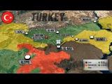 22 ноября 2016. Военная обстановка в Сирии. Новая военная база Турции. Русский перевод