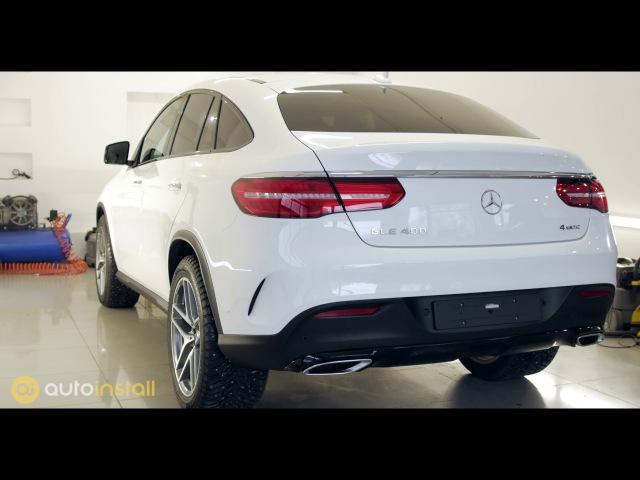 Mercedes GLE 400 Полировка и нанесение нанокерамики ServFaces от компании Autoinstall