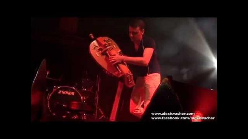 Alexis VACHER - Gnawaroque - Hurdy Gurdy - Vielle à roue - Echo Festival de Sailly