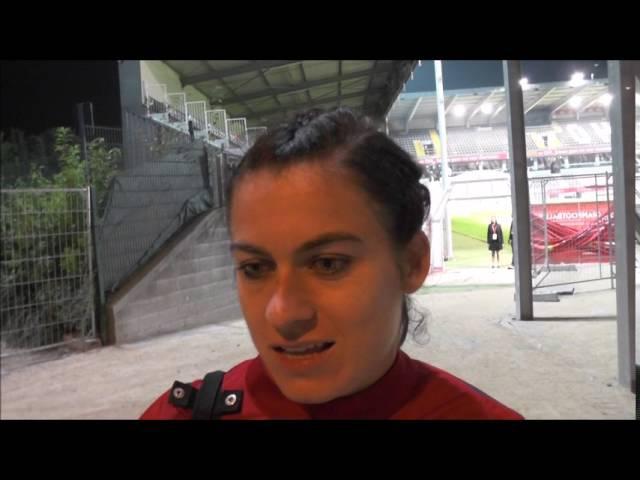 Karen Carney after Euro Qualifier Belgium – England on 20.09.2016