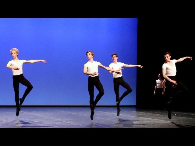 Cours de danse classique garçons I - Adage, pirouettes, sauts Conservatoire de Paris