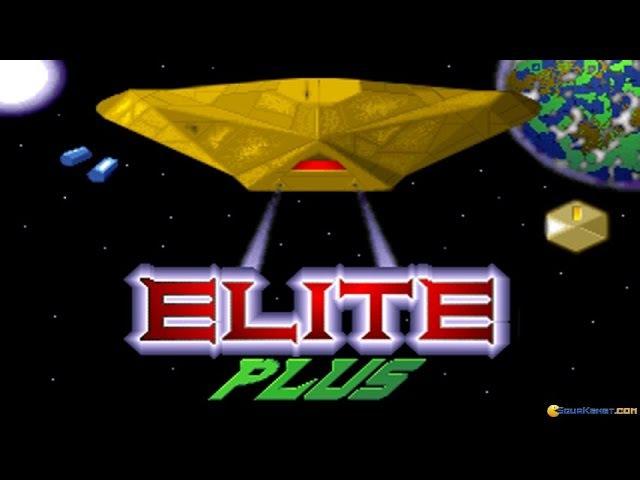 Elite Plus gameplay (PC Game, 1991)