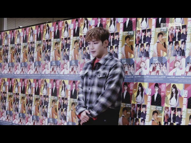 Jun. K(2PM) Youth Concert for Celebration Press Conference @171002 Fancam by HK.KPOP.PAGE