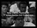 Santos 7x4 Corinthians 06 12 1964 Pacaembu Pelé 4 Coutinho 3