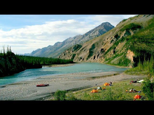 Река Кил, Северо-Западные территории. Канада