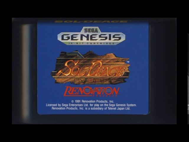 [NostalgiA] [SEGA Genesis \ Mega Drive] Sol Deace - Full Original Soundtrack OST