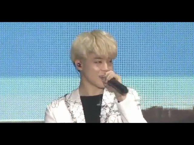 BTS Jimin's Cute Voice : Blood Sweat Tears