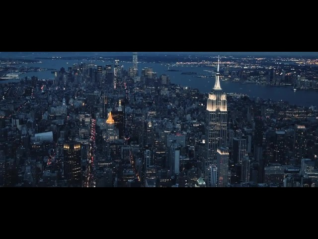 50 Cent - When It Rains It Pours Stunning New York City Skyline at Night - HD · coub, коуб
