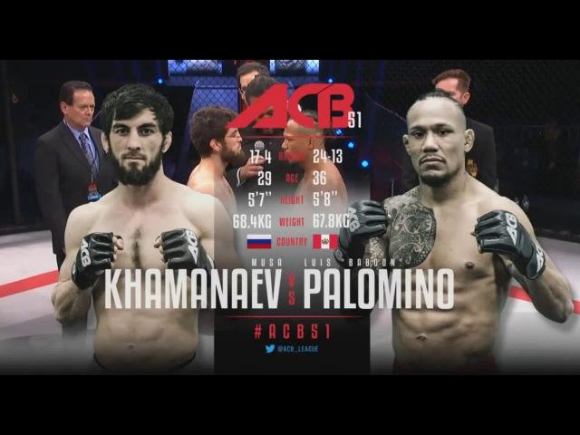 ACB 51 145 Musa Khamanaev Russia vs Luis Baboon Palomino Peru