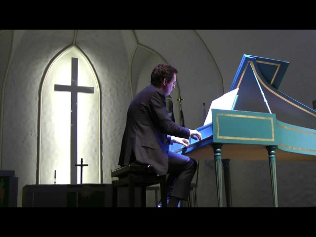Bach. Suite in A minor BWV 818a. M. van Delft.