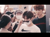 170430-170511 exo at the airport 엑소 공항 직캠 (fan video)