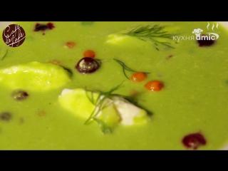 Летние витамины: как приготовить полезный суп из горошка, клюквы и облепихи?
