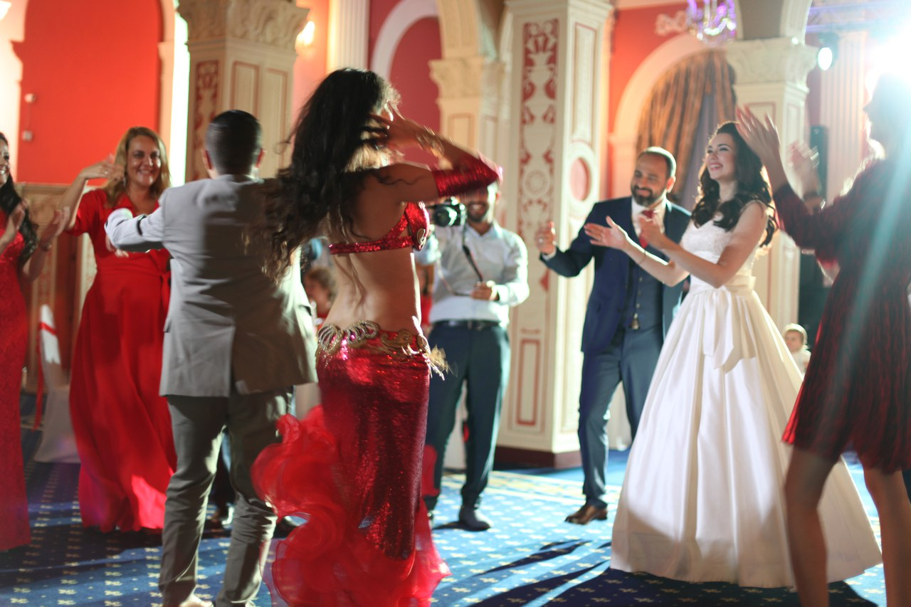 Танцы живота на свадьбе фото
