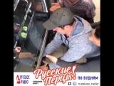 Дмитрий Брекоткин в коридорах Русского Радио
