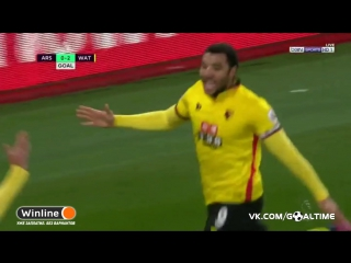 Арсенал - Уотфорд 0:2. Трой Дини