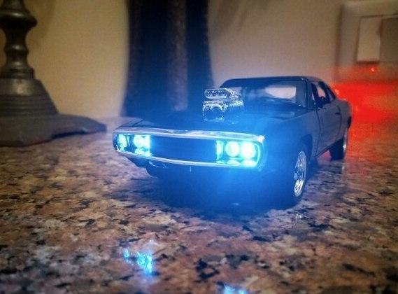 Модель Dodge Charger из Форсаж