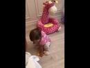 Знакомство с жирафиком 😍