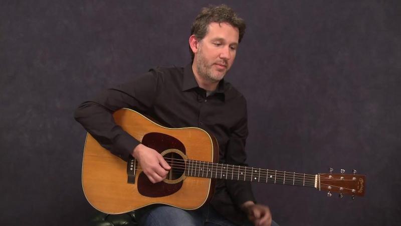 "Bryan Sutton - Improvising Over a Fiddle Tune ""Liberty"""