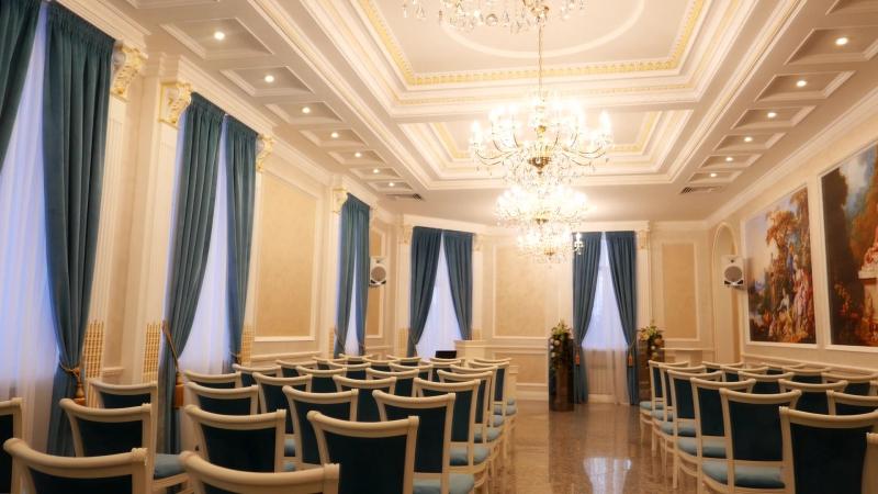 Зал торжеств на Ленина 21. Проект интерьеров дизайн-студии