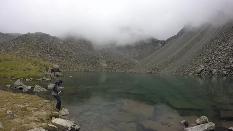 Поход по Алтаю. Озеро горных духов