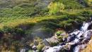 Горная речка (вытекает из озера Рыбки)