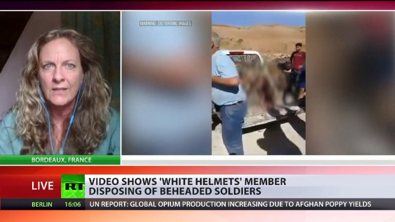SYRIA: Vanessa Beeley on RT Covering Latest White Helmet Participation in US Extremist Atrocities.