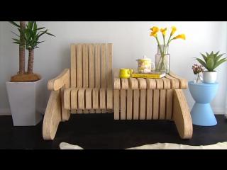 Мебель-трансформер: стол-скамейка своими руками