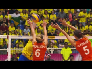 The Best Attacks Of FIVB World Grand Prix 2017 (Group stages)