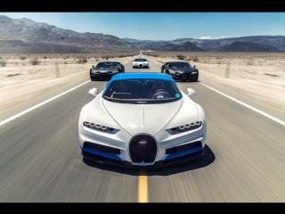 Bugatti Chiron Hot Weather Testing Summer 2016 #MakingTheChiron