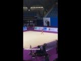 Карина Кузнецова - булавы // Гран При Москва 2017