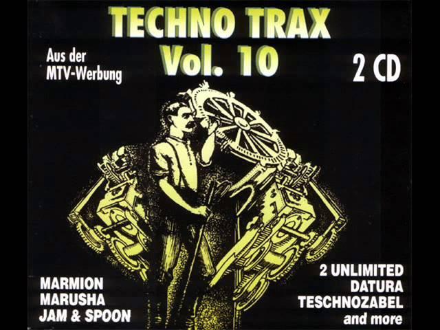 TECHNO TRAX VOL. 10 FULL ALBUM - 145:13 MIN (1994 GERMANY TECHNO RAVE TRANCE HD HQ HIGH QUALITY)