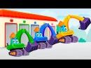 Мультфильмы Учим английский язык для детей Цвета для детей с машинками у новом видео 2017 года