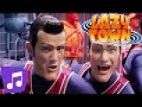 LazyTown | We Are Number One | Music Video | Kids Karaoke