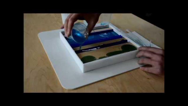 Работа с эпоксидной смолой часть 1 Working with epoxy resin part 1