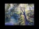 Пишем маслом солнечное летнее утро Vitali Oil Painting