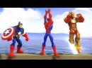 Мультик Игра Человек Паук Железный Человек Капитан Америка Маквин Тачки Мульти ...