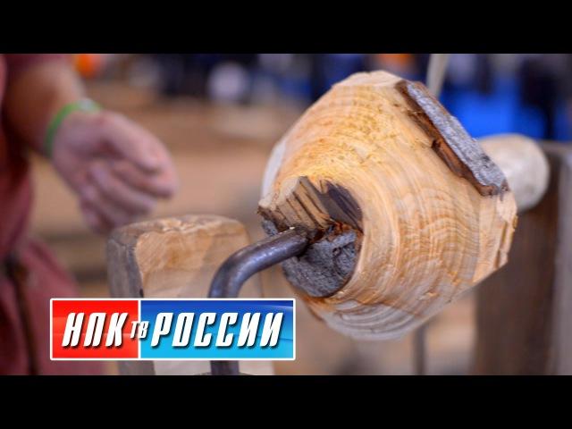 Версия реконструкции древнерусского токарного станка