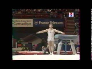 Ivan IVANKOV (BLR) floor - 1999 French internationals EF