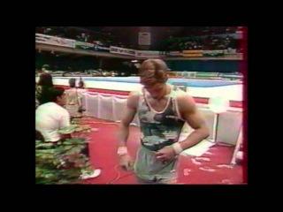 Ivan IVANKOV (BLR) floor - 1996 Puerto Rico worlds EF