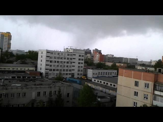 Смерч в Челябинске (Район ЮУРГУ) 24.05.2015