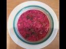 Ну очень лёгкий рецепт Холодный Литовский борщ . Lithuanian cold borscht
