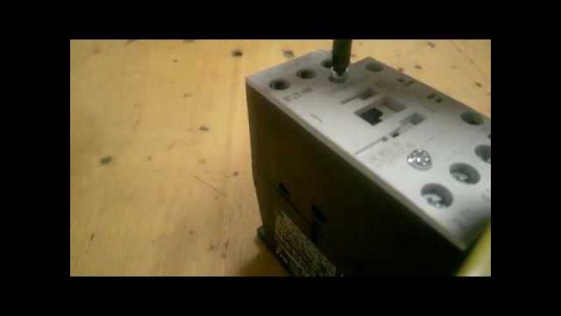 Полная разборка магнитного пускателя EATON ELECTRIC DILM32-10