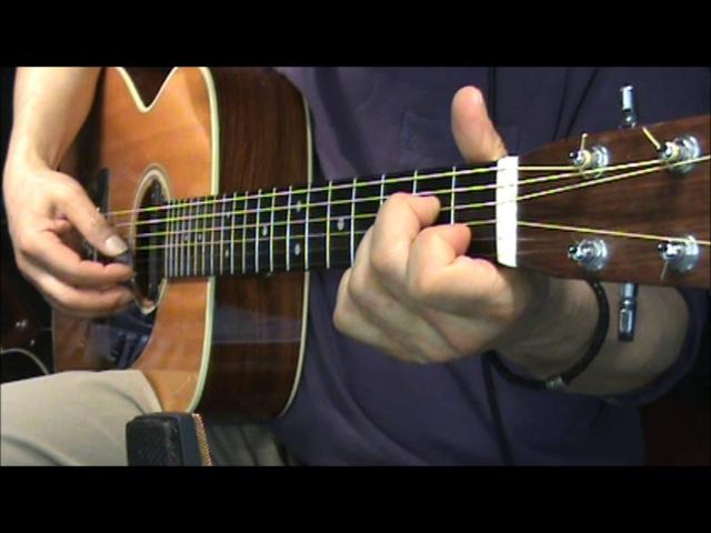 Early morning rain fingerstyle chords Gordon Lightfoot